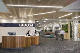 contemporary office. The Datacom Building Combines Contemporary Office Space With A Green Agenda