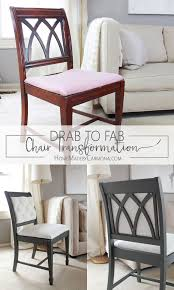 diy furniture makeover full tutorial. You Won\u0027t Believe This Stunning Chair Makeover! Learn How To Take A Plain And Up The Glam Factor With DIY Tufting Dramatic Paint Diy Furniture Makeover Full Tutorial E