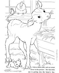 Free printable farm animal templates including cows, chickens, dogs, ducks, goats, horses, pigs, and sheep to make into cute open any of the printable files above by clicking the image or the link below the image. Farm Coloring Pages Free Coloring Home