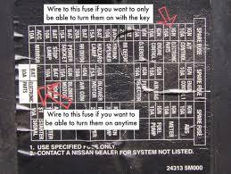 2000 nissan sentra interior fuse box diagram free wiring diagrams 2004 nissan sentra fuse box layout 2004 nissan sentra interior fuse box diagram free wiring diagrams