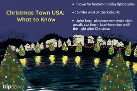 Where To See Christmas Lights In Charlotte Nc Visiting Christmas Town Usa In Mcadenville North Carolina