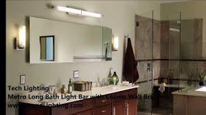 Long Bathroom Light Fixtures Incredible Long Vanity Light Modern Design Models