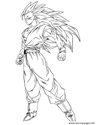 Small Picture anime dragon ball goku ssj3 coloring page Coloring pages Printable