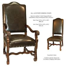 armed dining chairs dining chairs old world all leather dining chairs armed dining room chair slipcovers