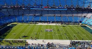 Carolina Panthers Interactive Seating Chart Carolina Panthers Bank Of America Stadium Seating Chart
