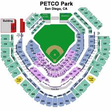 San Diego Padres Parking Map Map Nhautoservice
