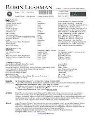 Acting Resume Template acting resume template for microsoft word domosenstk 34