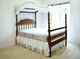 Antique Four Poster Bed For Sale Canopy Federal Style Pine 3 4 ...