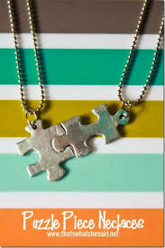 puzzle piece necklace that s what