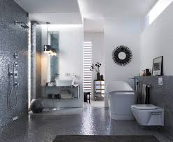 architecture bathroom toilet: this master bathroom draws on celebrity interior design inspiration with iridescent tiles and modern features such as the geberit in wall toilet system
