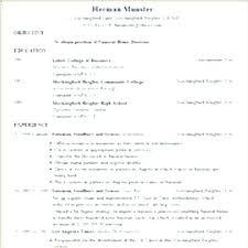 Microsoft Word Resume Wizard Resume Builder On Microsoft Word