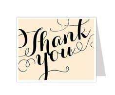 12 Best Thank You Card Templates Images Card Templates Paper