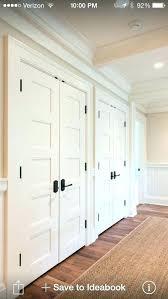 hallway closet doors linen door contemporary with organizer hall white ideas small hallway closet doors