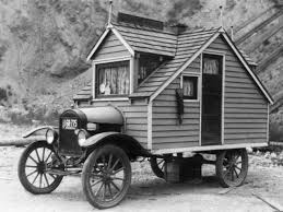 Small Picture Tiny House on Wheels ca 1926 vintage everyday