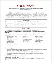 Easy Resume Templates Free Unique Simple Template Free Download Basic Resume Templates Easy