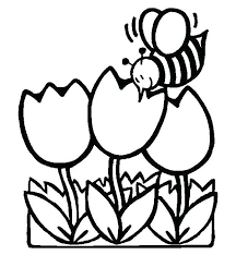 Coloring Page Spring Free Spring Coloring Pages For Kindergarten