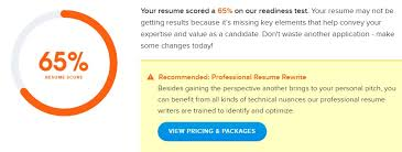 Are Automated Resume Review Scanners Trustworthy Careers Plus Blog Best Resume Score