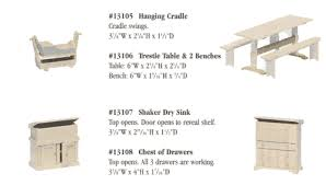 free dollhouse furniture patterns. table furniture plans 3 vues in usa free dollhouse patterns r
