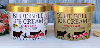 Blue Bell Releases Bride And Groom Cake Ice Cream Flavors Bakemag