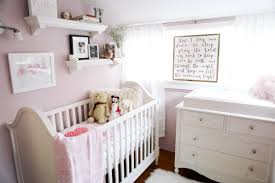 Light Pink Baby Girl Nursery We Turned Our Closet Into The Babys Nursery Sazan