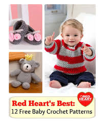 Redheart Free Crochet Patterns Best 48 Crochet Patterns For Baby Red Heart