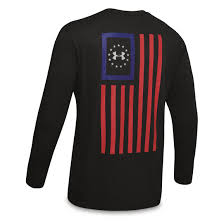Under Armour Rival Polo Size Chart Under Armour Mens Freedom Flag Long Sleeve Shirt