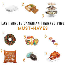 Last Minute Canadian Thanksgiving Must-Haves - Six Time Mommy and ...
