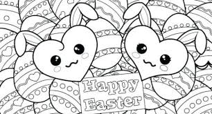 Happy Easter Coloring Pages Printable For Kids And Adults Easter