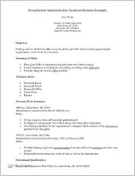 Medical Assistant Job Resume Airexpresscarrier Com