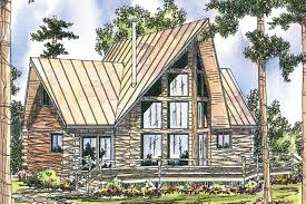 a frame house plan chinook 30 011 front elevation