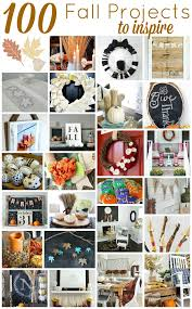 100 fall diy project ideas for your home wreaths banners tablescapes crafts