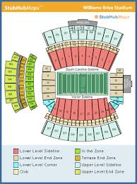 Williams Brice Stadium Seating Chart Usc Football Stadium Map Sparklers For A Wedding