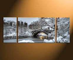 3 piece wall decor scenery wall art snow canvas photography tree snow home on large canvas wall art trees with 3 piece canvas wall art panoramic canvas photography scenery group