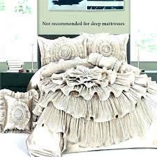 ruffled comforter bedding set ruffle bed quilt king pink twin light grey xhilaration