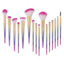 docolor makeup brushes clearance 16pcs fantasy unicorn brush set powder foundation eye cosmetic kit walmart