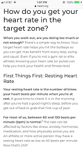 Pin by Twila Hunter on Health & Fitness | Target heart rate, Enough is  enough, Health fitness