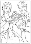Игры для девочек раскраски на свадьбу