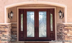 luxury front doorsglass front doors  Sans Soucie Art Glass