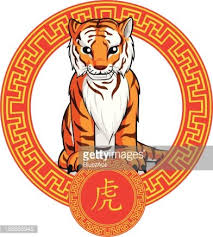chinese tiger clipart. Fine Chinese Chinese Zodiac Animal  Tiger Inside Clipart D