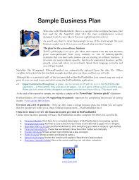 Sample Business Plan For Startup Genxeg