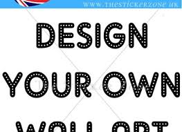 Small Picture Wall Sticker Custom Vinyl Decal Design Your Own Quote Wall Art