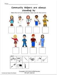 Community Helpers Activities And Worksheets A Tpt Featured Resource