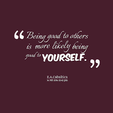 Quotes About Being Good Quotes On Being Nice To Yourself Best Quote 24 23