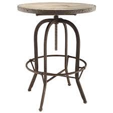 industrial modern furniture. Sylvan Industrial Modern Wood Top Bar Table Brown Furniture