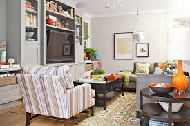 Living rooms tv Simple Family Room Furniture Arranging Add Storage Better Homes And Gardens How To Arrange Furniture Nofail Tricks