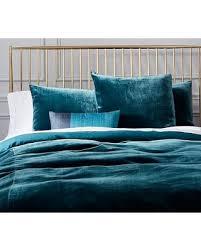 velvet duvet cover king. Contemporary Cover Luxe Velvet Duvet Cover King Blue Teal Inside Cover King E