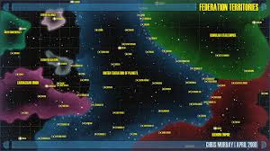 Star Trek Galaxy Chart How Much Unclaimed Space Exists In And Around Star Trek