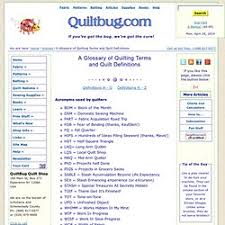 Quilting helps...and supplies | Pearltrees & A Glossary of Quilting Terms and Quilt Definitions Adamdwight.com