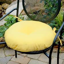 fabulous round back patio chair cushions cool outdoor seat regarding designs 19