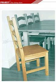 pine dining chair plans